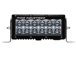 "Rigid Industries 106212 E-Series Amber 6"" LED Spot Light Bar"