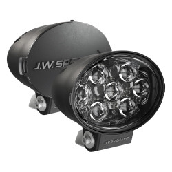 "JW Speaker Model TS3001V Driving Beam LED 7""x5"" Oval Auxiliary Lights, DOT 2 Light Kit"