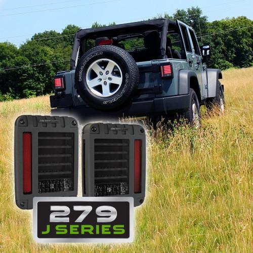 Jw Speaker Model Model 279j Jeep Dot Led Tail Light Kit