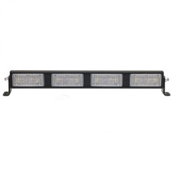 "JW Speaker Model 9049-4M 12V LED NonProgrammable LED 25"" Light Bar with Flood Beam Pattern"