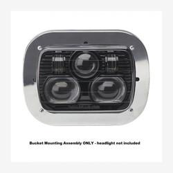 "JW Speaker Model 8900 5X7"" Rectangular Headlight bucket Mounting Assembly"