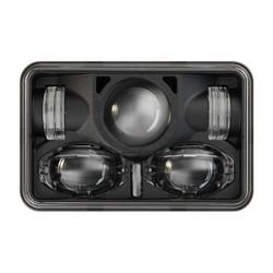 "JW Speaker Model 8820 12/24 High Low DOT 4x6"" LED Military Headlamp - Panel Mount RHT"