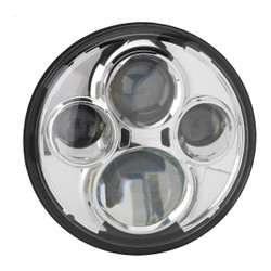 "JW Speaker Model 8710 12/24V 7"" Round High Beam Driving Light - Chrome"
