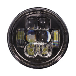 "JW Speaker Model 8630 Evolution RHT DOT 5.75"" Round Headlight - WITHOUT HALO"