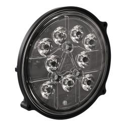 JW Speaker Model 8625 XD 12-24V LED Work Light with Spot Beam Pattern