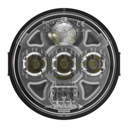 "JW Speaker Model 8415 Evolution PAR36 4.5"" Round LED Headlight 12-24V SAE/ECE High/Low Beam Light with Xenoy Housing & Fixed Panel Mount"