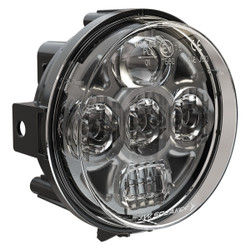 "JW Speaker Model 8415 Evolution PAR36 4.5"" Round LED Headlight 	12-24V SAE/ECE LED High/Low Beam Light with Xenoy Housing & Adjustable Mount"