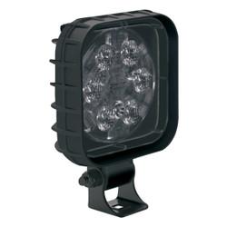 JW Speaker Model 840 XD 12-48V LED Work Light with Right Hand Vertical Flood Beam Pattern