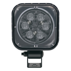 JW Speaker Model 840 XD 12-24V LED Work Light with Trapezoid Beam Pattern