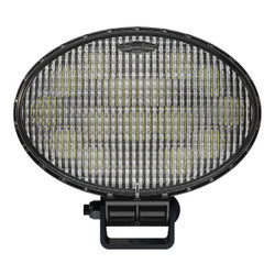 JW Speaker Model 7150 - 12-24V LED Work Light with Polycarbonate Lens & Trapezoid Beam Pattern