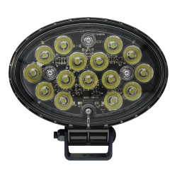 JW Speaker Model 7150 - 12-24V LED Work Light with Polycarbonate Lens & Spot Beam Pattern