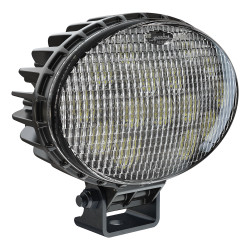 JW Speaker Model 7150 - 12-24V LED Work Light with Polycarbonate Lens & Flood Beam Pattern