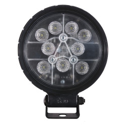 JW Speaker Model 680 XD - 12-24V LED Work Light with Trapezoid Beam Pattern