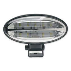 JW Speaker Model 660 - 12-24V LED Work Light with Flood Beam Pattern & Pedestal Mount