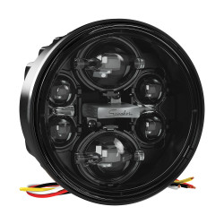 "JW Speaker Model 6130 Evolution 4.75"" Round LED High Beam Only Headlight"
