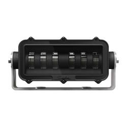 JW Speaker Model 527-12/24V Red LED Zone Lamp