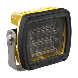JW Speaker Model 526 	12-24V LED Work Light with Yellow Housing, Polycarbonate Lens & Anti-Glare Beam Pattern