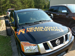 "Headlight Revolution 64"" Vinyl Decal Sticker"