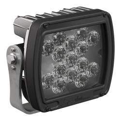 JW Speaker JW Speaker Model 526 12-24V LED Work Light with Black Housing, Polycarbonate Lens & Flood Beam Pattern