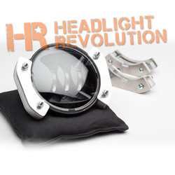 "Headlight Revolution Jeep JK Wrangler 4.5"" LED Fog Light Brackets - JW Speaker and Truck-Lite"