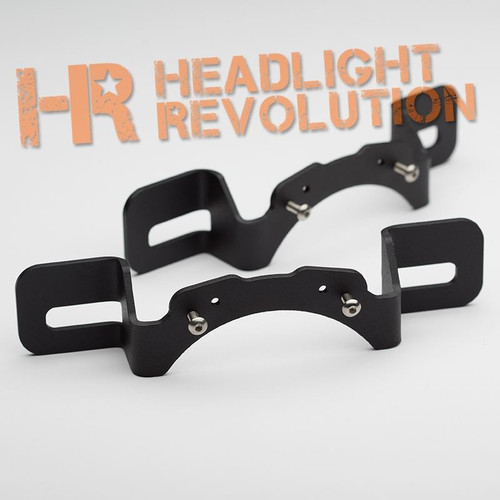 Headlight Revolution Jeep Jk Rubicon X Bumper Mount
