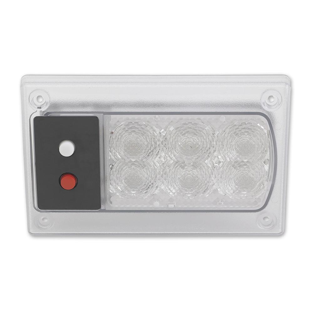 JW Speaker Model 417 12V Red White LED Dome Lamp DT04 3P