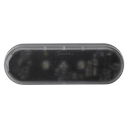 JW Speaker Model 412 12-48V White LED Dome Light with Deutsch Connector, Switch & 60 Minute Timer