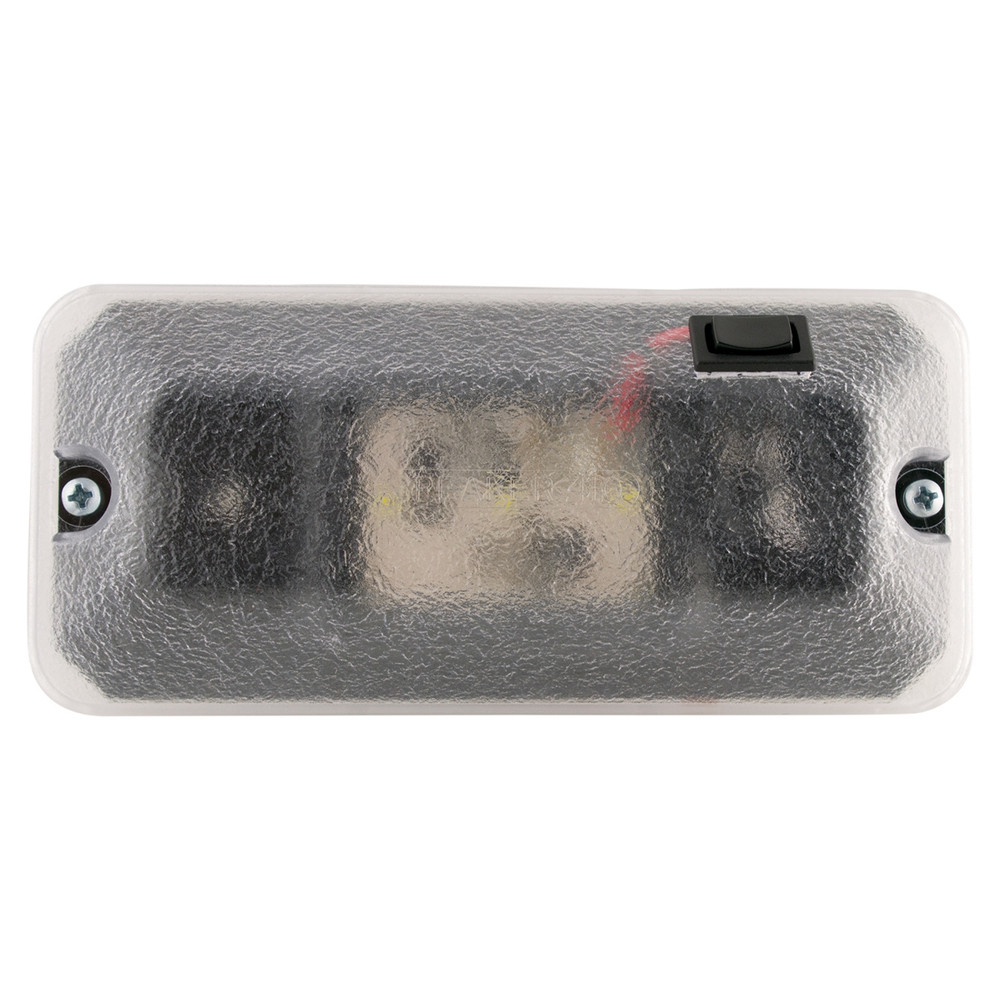 JW Speaker Model 411-1 12/24V LED Dome Lamp 3-Wire Switch