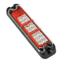 JW Speaker Model 281-12V AMBER, RED, WHITE LED Multi-Function Lamp