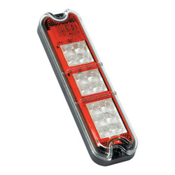 JW Speaker Model 280-12V LED Stop-Tail-Turn Lamp AMBER, RED, WHITE