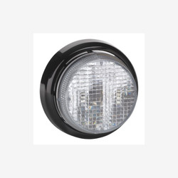 JW Speaker Model 217-12/24V LED SAE/ECE Clear Rr Fog Lamp