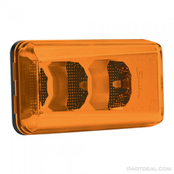 JW Speaker Model 157A-12/24V Amber Side Indicator/Marker