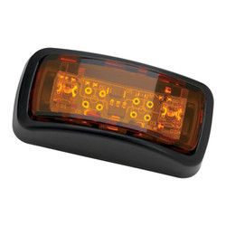 JW Speaker Model 150-12/24V A/A LED Sidemarker w/carrier - amber
