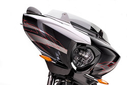 ORACLE Victory Motorcycle Replacement LED Headlight - Black