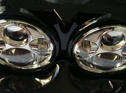 ORACLE Harley Road Glide Replacement LED Headlights - Chrome