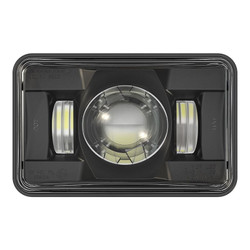 "JW Speaker 8800 Evolution 2 LED 4x6"" High Beam Headlight - Black"