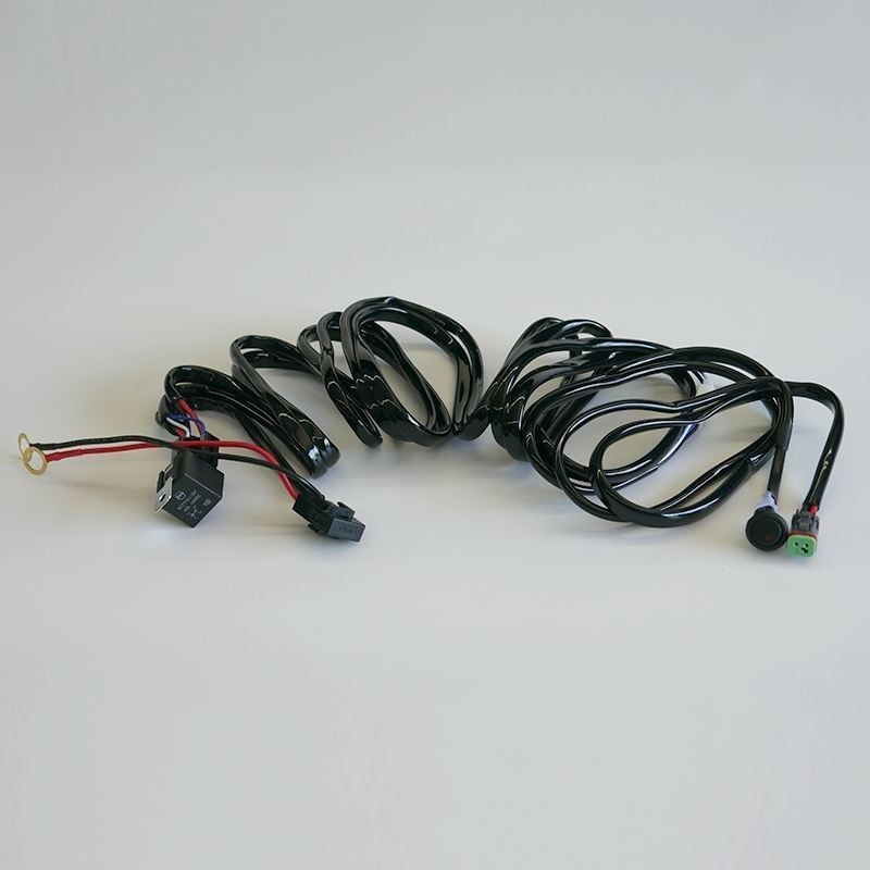 Supernova LED Light Bar Relay Wire Harness - Headlight Revolution