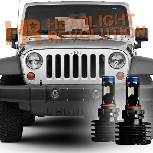 2007 2017 Jeep Wrangler Jk Led Fog Light Bulb Upgrade