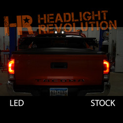 2016 - 2017 Toyota Tacoma LED Rear Brake Light Bulbs Kit