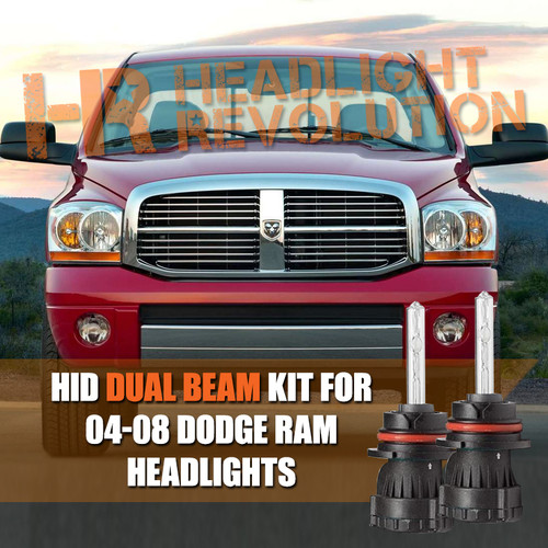 2004 2008 Dodge Ram Hid Conversion Kit Canbus