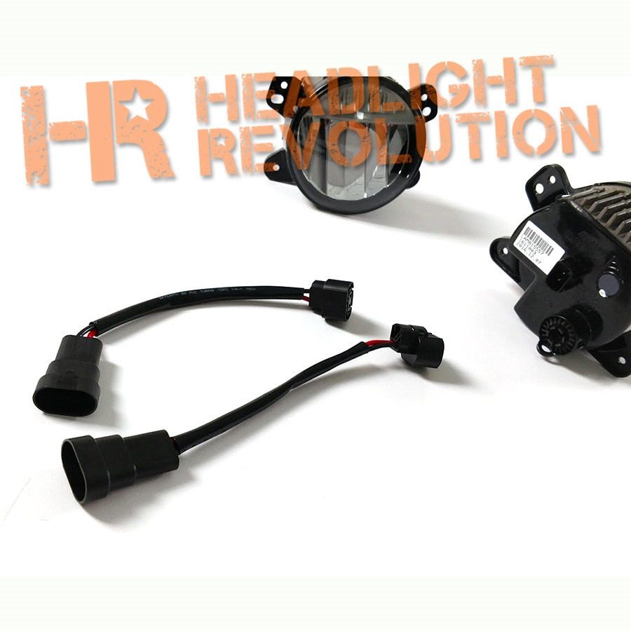 headlight revolution 9005 male to 2504 female adapter wire harnesses rh headlightrevolution com OEM Battery Cables Ford OEM Wiring Harness