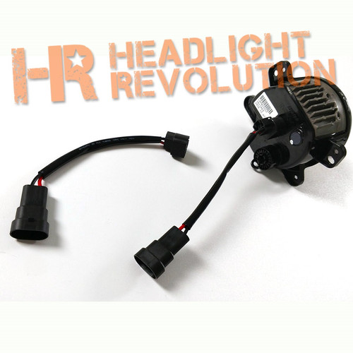 headlight revolution 9005 male to 2504 female adapter wire. Black Bedroom Furniture Sets. Home Design Ideas