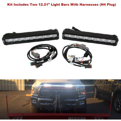 Vision X Low Profile Snow Plow LED Light Kit