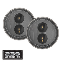 JW Speaker 239 J2 Series LED Jeep Turn Signals Kit - Clear Lens