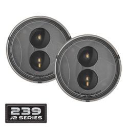 JW Speaker 239 J2 Series LED Jeep Turn Signals Kit - Clear Lens