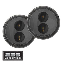 JW Speaker 239 J2 Series LED Jeep Turn Signals Kit - Smoked Lens