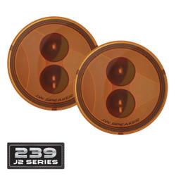 JW Speaker 239 J2 Series LED Jeep Turn Signals Kit - Amber Lens