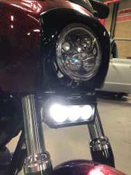 Vision X Motorcycle Universal LED Light Bar Kit