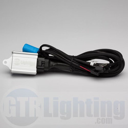 GTR Lighting Dual Beam HID Relay Harness - 9007 Style
