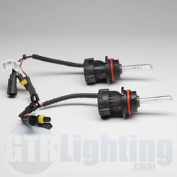 GTR Lighting 35w/55w Dual Beam Replacement HID Bulbs, 9004 / 9007 (Requires Relay Harness) - Pair
